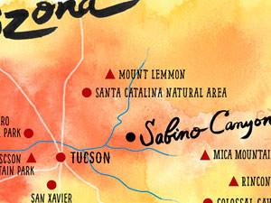 Sabino Canyon, AZ