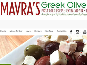 Mavra's Greek Oil