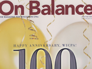 On Balance magazine